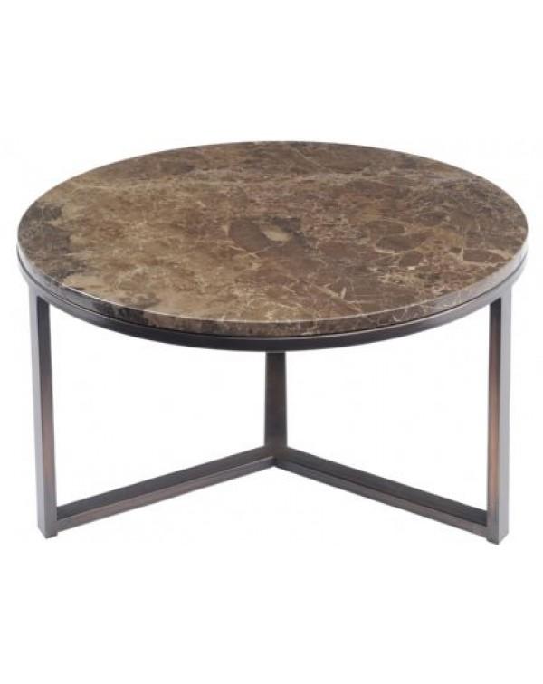Fitzroy Emperador Marble Coffee Table